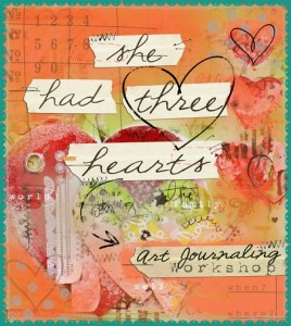 Christie Tomlinson art journaling