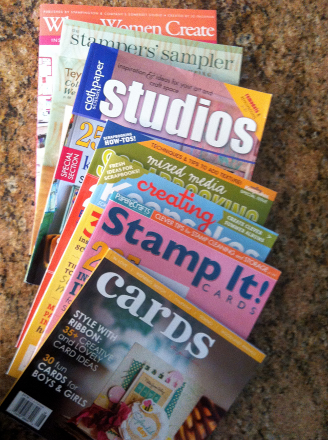 Joann Fabric craft magazines
