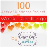 100 acts of kindness week 1