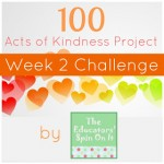 100 acts of kindness week 2