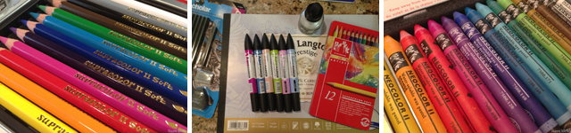 January art supplies