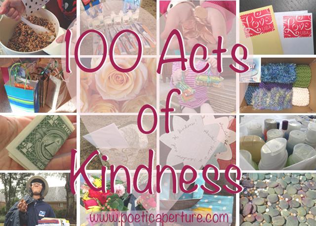 100 kindnesses mosaic