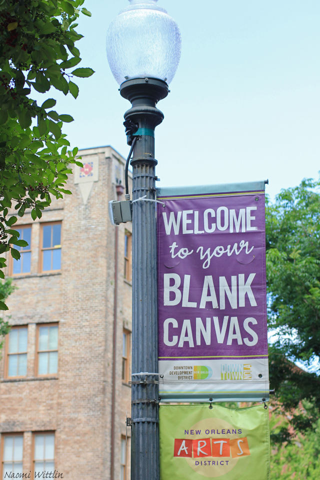 Blank canvas_New Orleans arts district